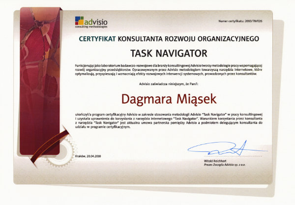 FCODC - TASK NAVIGATOR