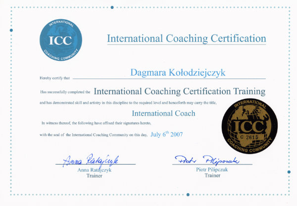 ICC - International Coaching Certification