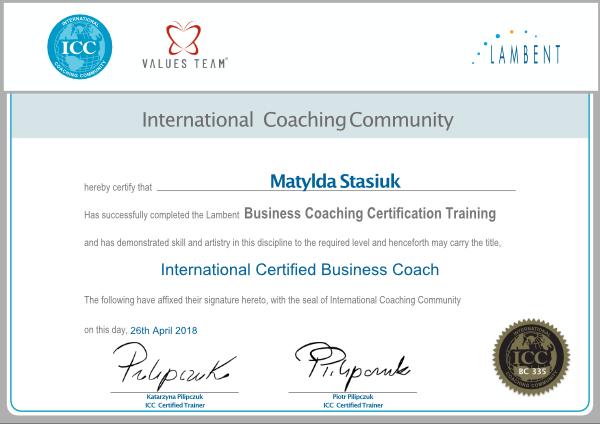 ICC Business Coach